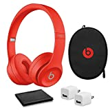 Beats by Dr. Dre - Solo? The Beats Icon Collection Wireless On-Ear Headphones - Red -with USB Adapter