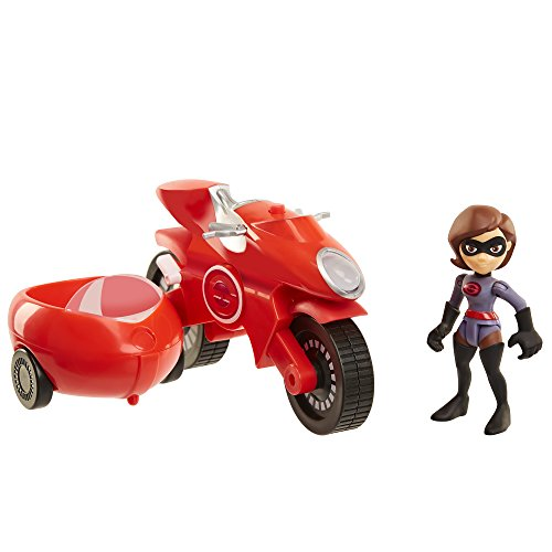 The Incredibles 2 Elasticycle & Elastigirl Vehicle Playset Action Figure