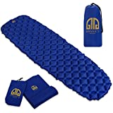 ANVAR's LUXURY Inflatable Camping Sleeping Pad - Ultralight (14.8 OZ) Camp Pad for Backpacking - Camping Pads for Sleeping with Repair Kit
