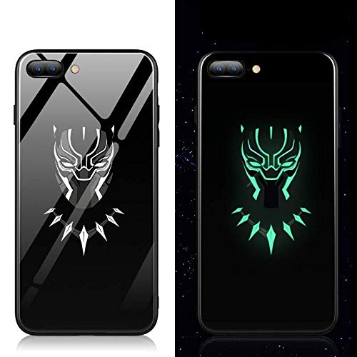 Black Panther Iphone11 promax/XSmax/XR Noctiluence Cell Phone Case Night Light (iPhone 11 Pro)