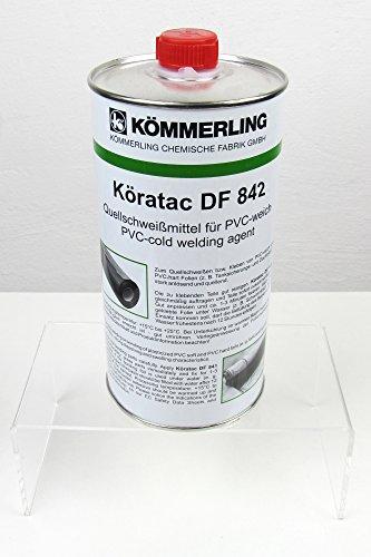 1 Dose 800gr. Köratac Kaltschweißmittel zum Verkleben von Weich-PVC-Folien