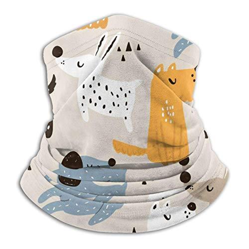 KDU Fashion 12-in-1 bandana, mooie hondenhalsband, winddichte gezichtsbescherming om te rijden