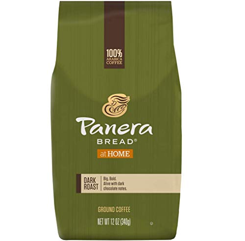 Panera Bread 4066 Ground Coffee, Dark Roast, 12 oz Bag