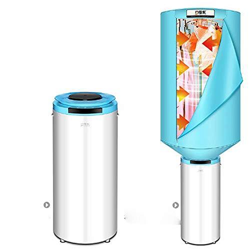 Ahn Secador de Tambor de 9 kg, Independiente, Blanco, con clasificación de energía B, Inicio demorado, Sensor de Secado y Pantalla Digital [Clase de energía B]