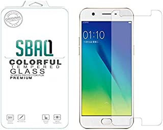 Glass Screen protection by SBAQ for Oppo A57, Clear