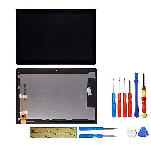 swark LCD Display Kompatibel mit Lenovo Tab M10 HD TB-X505 X505F TB-X505L X505 (Schwarz Ohne Rahmen) Touchscreen Replacement + Tools