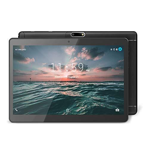 YUNTAB Tablet 9.6 Pollice Android 3G, Dual Sim Slot,1 GB RAM + 16 GB ROM,Quad Core CPU , HD IPS Touch Screen,WiFi GPS Bluetooth(Nero)