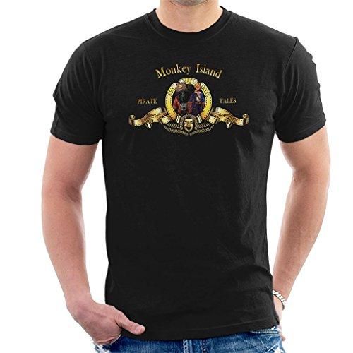 Monkey Island Metro Goldwyn Mayer Lion Men's T-Shirt