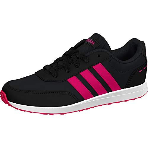adidas Unisex-Kinder Vs Switch 2 K Laufschuhe Kids, Schwarz (Carbon/Shock Pink/Black Core), 29 EU
