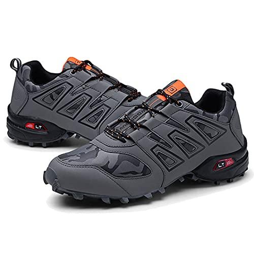 Zapatillas Trail Running Hombre Ligero Deportivas Hombre Zapatos para Correr Gimnasio Sneaker Zapatillas Trekking Botas Hombre Zapatillas Senderismo Montaña