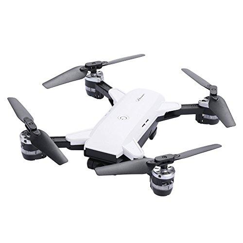wlgreatsp YH-19 Plegable Quadrocopter Drone con cámara de Video en Vivo, Pista Fight 3D Roll Cool Led luz altitud Hold R