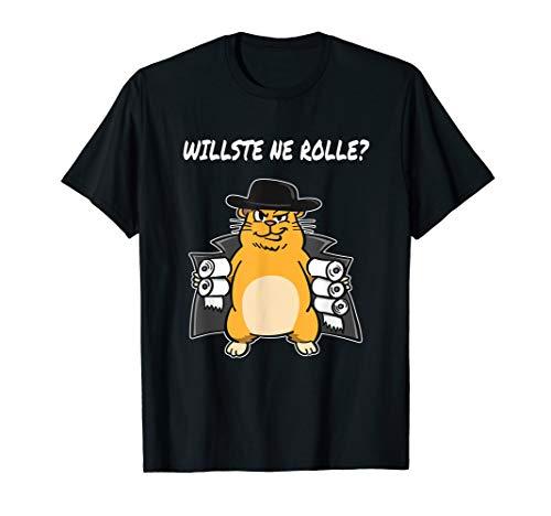 Hamsterkauf Shirt Dabbing Hamster Tshirt Klopapier Nudeln T-Shirt