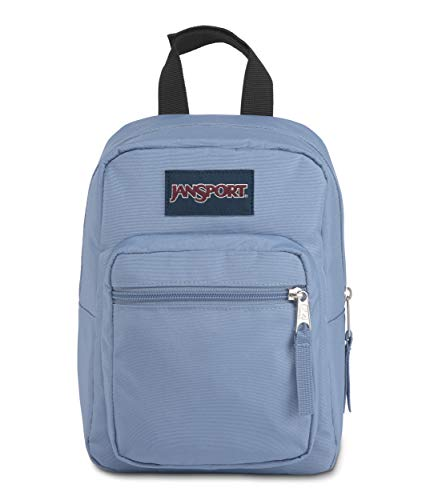 JanSport Big Break Insulated Lunch Bag - Small Soft-Sided Cooler Ideal for School, Work, or Meal Prep, Blue Agave