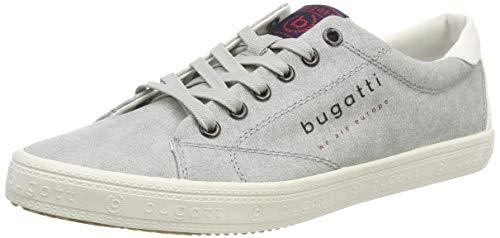 bugatti Herren 321719016900 Sneaker, Grau, 43 EU