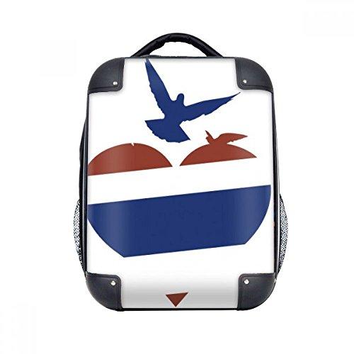 DIYthinker Thailand Ich liebe Thailand Herz Seagull Hard Case Schulter Kind-Rucksack-Geschenk 15