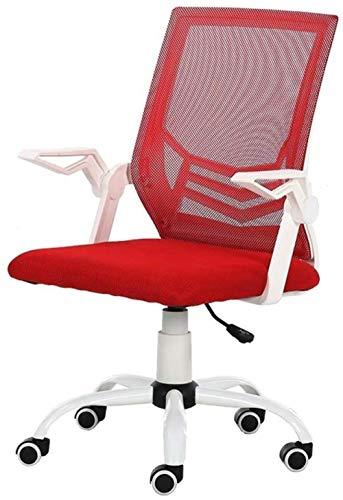 Computerstoel Kantoor Ergonomische Computerstoel Middenrug Mesh Bureaustoel Lendensteun Moderne Executive Verstelbare Kruk Rolling Draaistoel