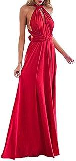 online store bd37c 9adb0 Amazon.it: vestito rosso lungo - Rosso
