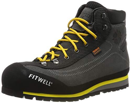 Fitwell Safety S3 wasserdichte Sicherheitsschuhe/Arbeitsschuhe mit Vibramsohle (EU 44)