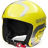 Briko Vulcano Fis 6.8 Multi Impact Casco de esquí/Snow, Adultos Unisex, Shiny Yellow-Silver, Medium