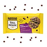One 23 oz bag of Nestle Toll House Milk Chocolate Chips Nestle Toll House chocolate baking chips deliver sweet flavor to your favorite recipes Perfect to add to chocolate cookies, brownies, or pancakes along with other dessert recipes Gluten free mil...