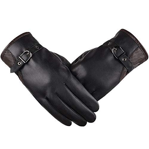 Axiba wanten houden warme winter handschoenen rijden mannen lederen handschoenen Touch Screen handschoenen voor telefoon met ipad