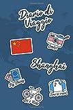 Diario di Viaggio Shanghai: Diario di viaggio da compilare | 106 pagine, 15,24 cm x 22,86 cm | Per accompagnarvi durante il vostro soggiorno (Italian Edition)