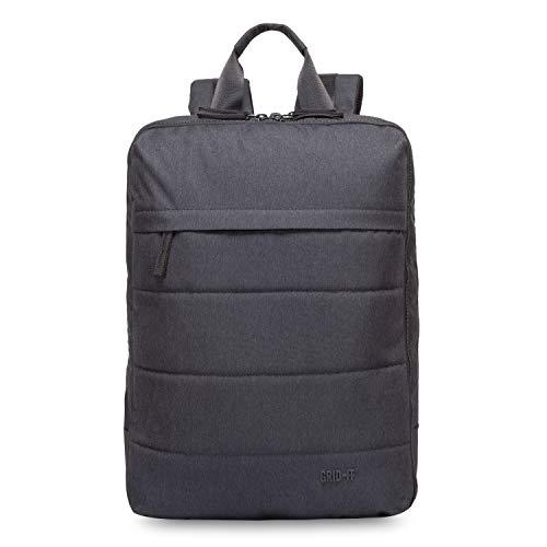Cocoon TECH - Laptop Rucksack mit besonderem Organisationssystem / Praktischer Backpack für Laptops / Daypack / Rucksack für Tablet, Laptop / 2 Reißverschlussfächer / Schwarz - 10