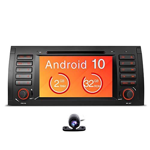 Freeauto Stéréo Android 9.0 pour BMW E39 E53 M5 X5 Autoradio Audio 7\