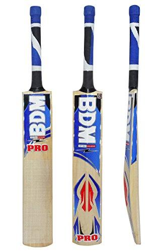 BDM Pro Multi - Piece Cane Griff Kaschmir Willow Wood Cricket-Schläger-Fall-Erwachsen-Größe Carry - Gewicht wählen