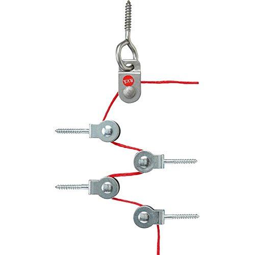 Jung Umlenkrollen-Set NRS ULR 0834 Notruf-System Umlenkrolle für Seilzug 4011377103016