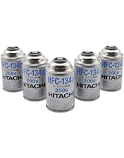 HITACHI (日立) カーエアコン用冷媒 (200g) HFC-134a 5缶セット