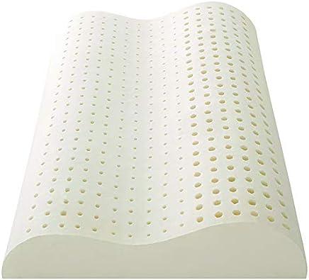【正規品】Sealy(シーリー) 枕 エルゴノミック ホワイト 幅60cm ラテックスピロー カバー洗濯可