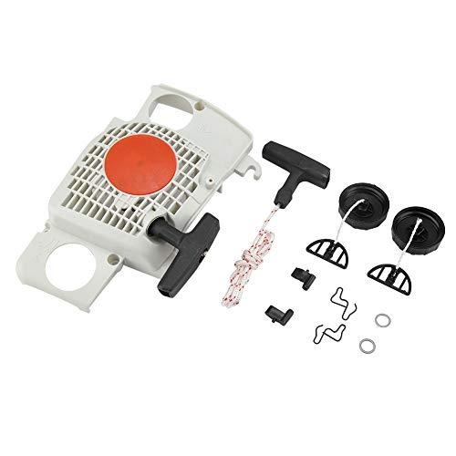 TOPINCN Kit di Tappi Olio di avviamento a Recupero per STIHL MS180 MS180C MS170 017 018 Set di estrattore avviamento a Motosega