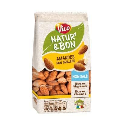 Vico Natur & Bon Amandes Naturelles Non Salées 200 g