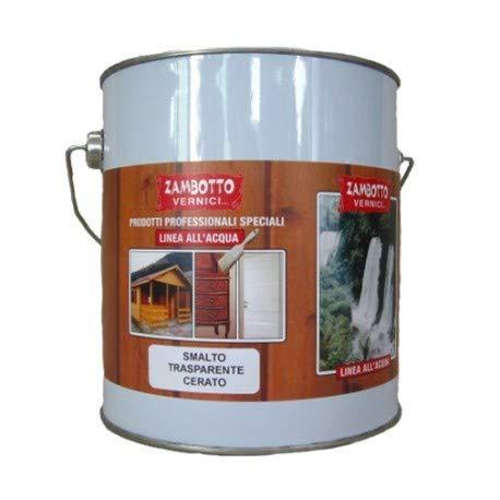 Esmalte transparente encerado Flatting para madera de 0,75 a 5 litros 2,5 Litri transparente