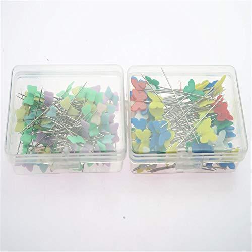 Pinaalden kaart spijkers plastic koppen handwerk metalen naald positionering naalden DIY portemonnee frame naaien knutselgereedschap