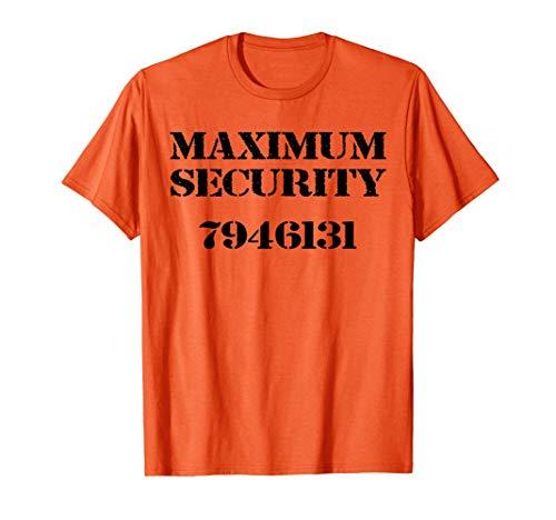 Divertido disfraz de recluso de la prisión Camiseta