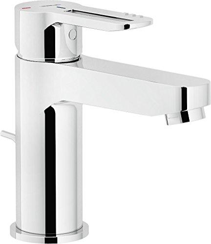 Nobili rubinetterie RDE0118/1CR Miscelatore Lavabo Eco con Scarico, Cromo