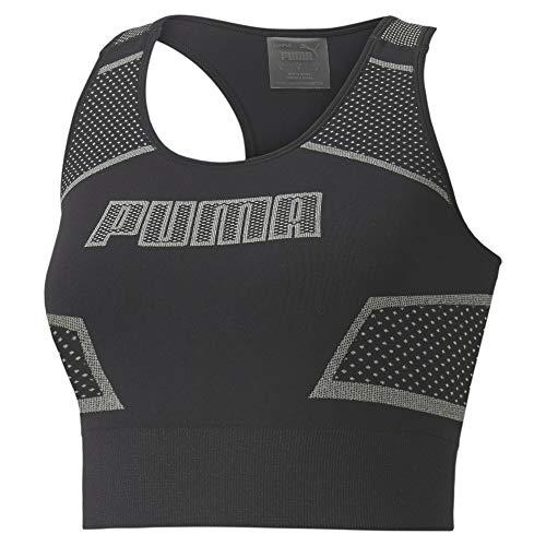 PUMA Evostripe Evoknit Crop Top Camiseta Mujer