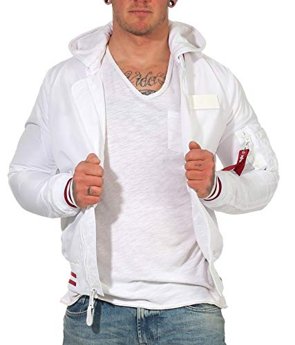 Alpha Industries MA-1 TT Hood Defense bomber jas