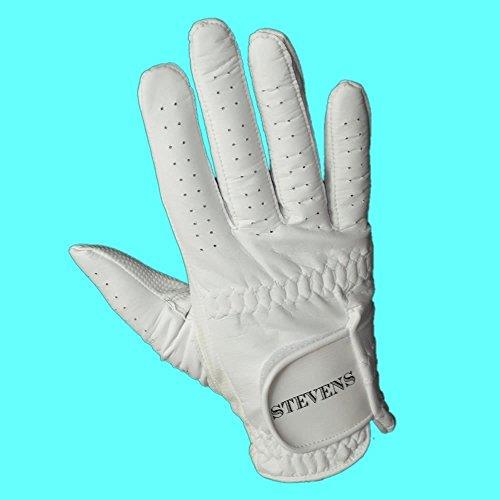 Stevens Herren Bowlinghandschuh, für Rechtshänder, Weiß xl