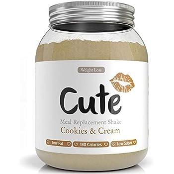 Cute Nutrition Batido de Proteínas Vegano Sabor Fresa Sin Gluten ...
