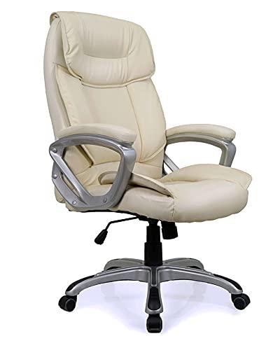 Cadeira Escritório Presidente Viena Bege Conforsit 4646