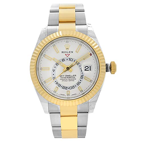 Rolex Oyster Perpetual Sky-Dweller Reloj automático de dos tonos para hombre 326933WSO