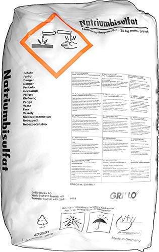 "25kg Natriumbisulfat Sackware \""Made in Germany\"" NaHSO4 Natriumhydrogensulfat"