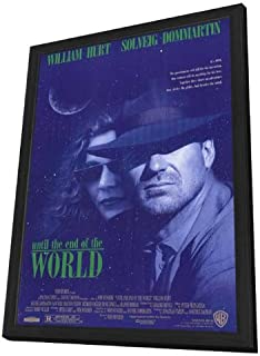 Movie Posters Until The End of The World - 11 x 17 Framed