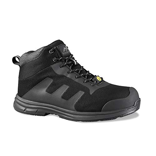 Rock Fall TeslaDri RF120 Vegan Friendly Black S3 ESD Composite Toe Safety Boots …