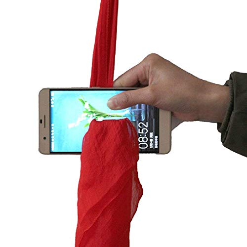 Inception Pro Infinite Pañuelo mágico - Pasa por el teléfono - Truco - Trucos de Magia - Chistes