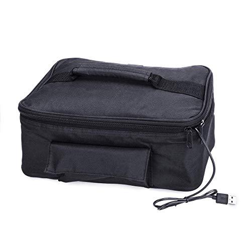 SISHUINIANHUA 5V USB Mini Voiture Portable Four électrique Aliments Chauds Pique-Nique Camping dîner dîner fourre-Tout Sac Chauffage Chauffage boîte de Repas