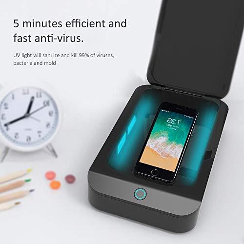 USB UV-Desinfectie Doos Voor Juwelen Phone Cleaner Ma-SKS DC 5 V Sanitizer Ontsmetting Box UV Licht Huishoudelijke Schoonmaakmiddelen